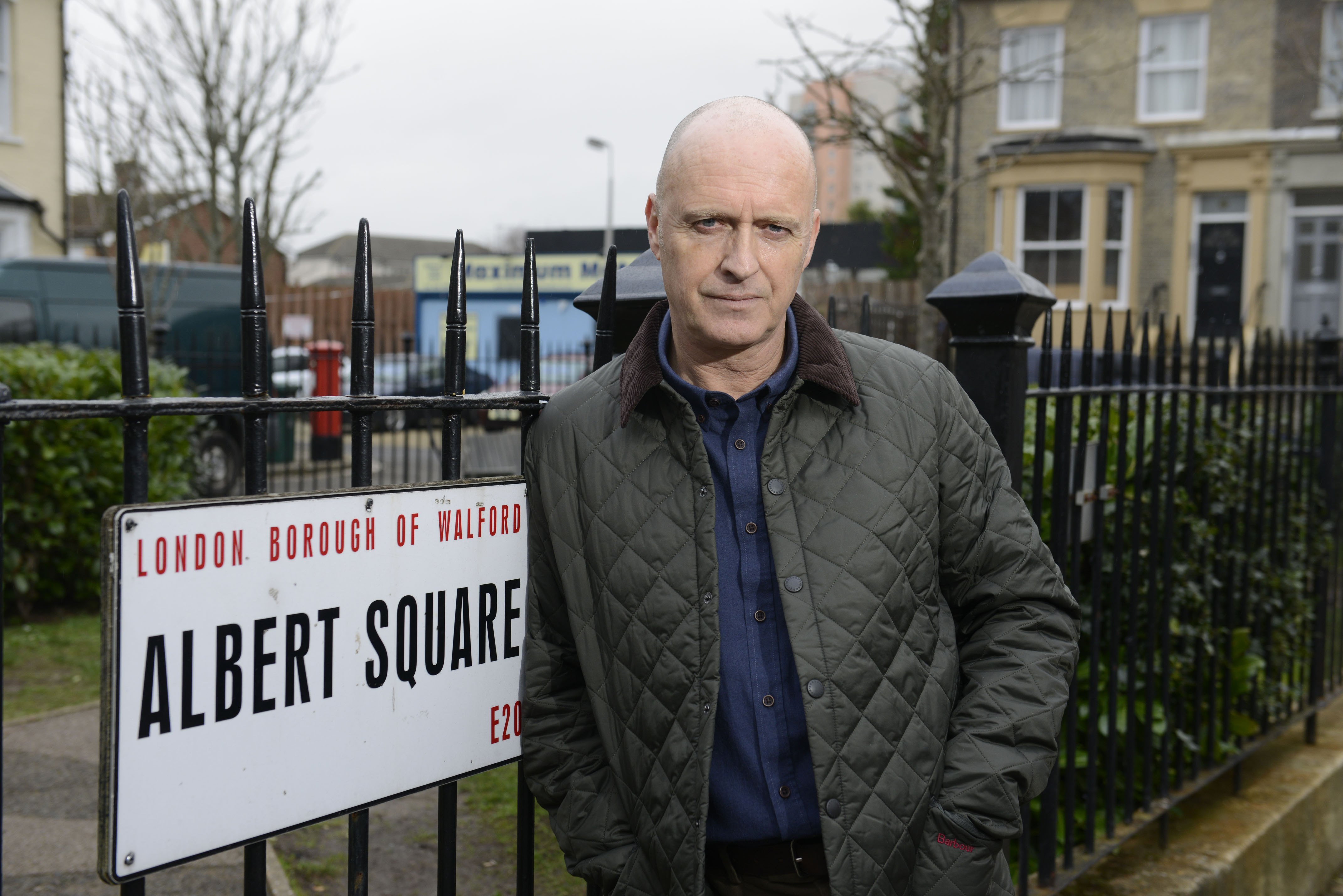 Paul Usher will return to EastEnders as Danny Hardcastle