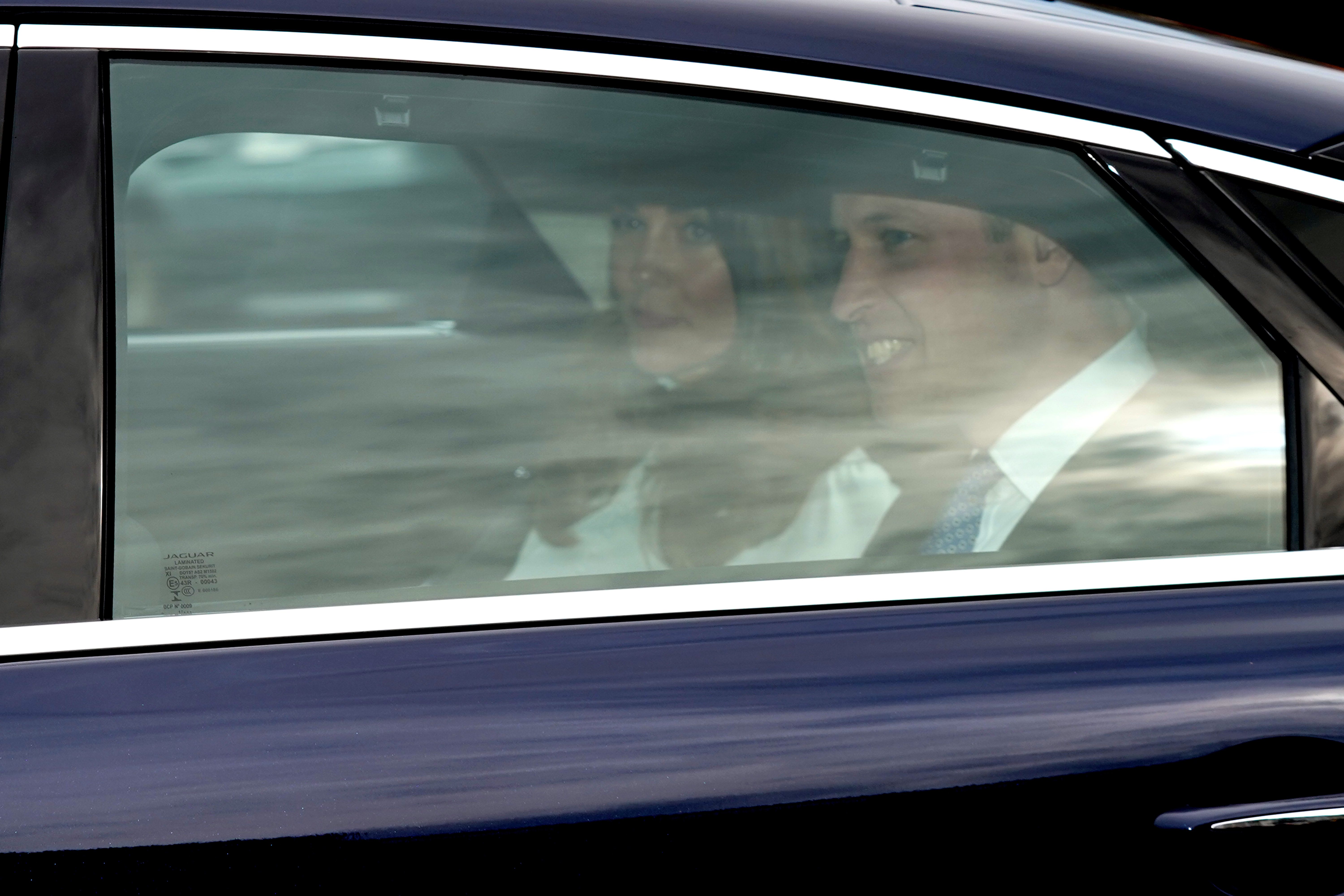 Royals make there way to Buckingham Palace for a reception marking Charles' 50 Years As Prince of Wales.