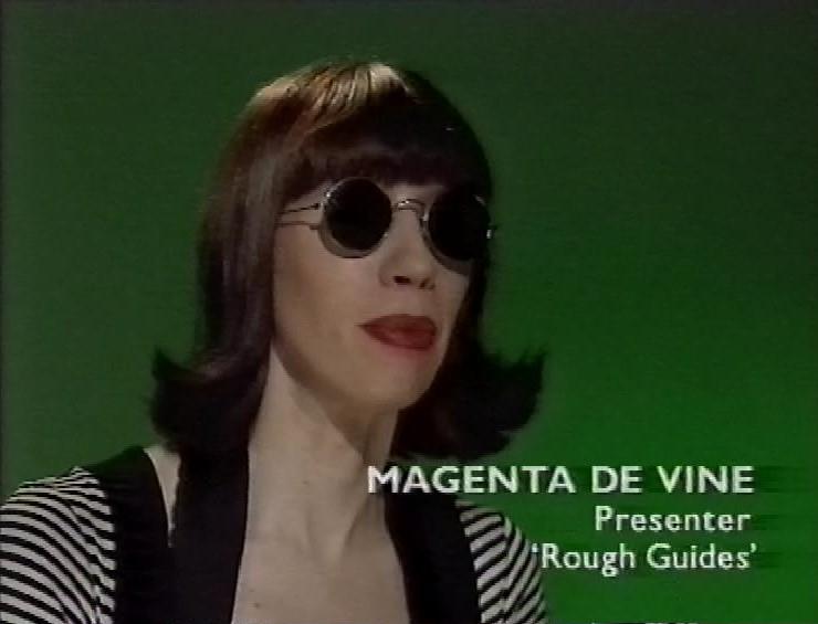 magenta devine talking head BBC