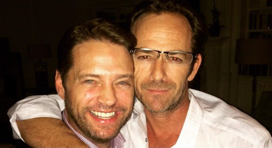 Luke Perry's Son Releases First Statement Since His Dad's Death