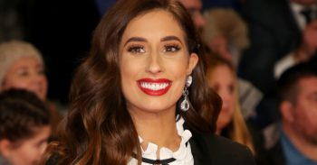Stacey Solomon at The National Television Awards 2019