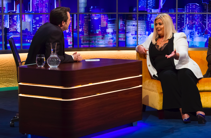 Gemma Collins on Jonathan Ross