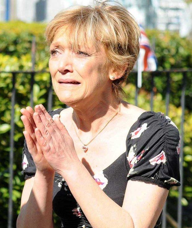 Jean Slater crying EastEnders