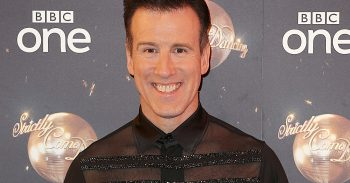 Anton du Beke at the Strictly launch