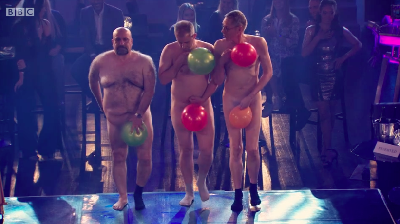 Celebrity Apprentice balloon stripper act