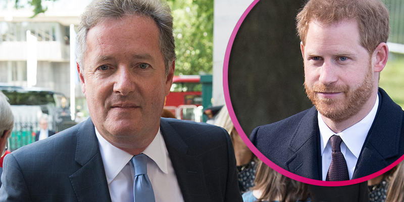 Piers Morgan slams 'hypocrite' Prince Harry for 'taking £6K helicopter days before climate change speech'