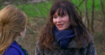 Emmerdale's Chas Dingle confirms she is pregnant