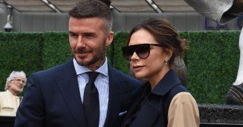 David Beckham Victoria Beckham Splash News