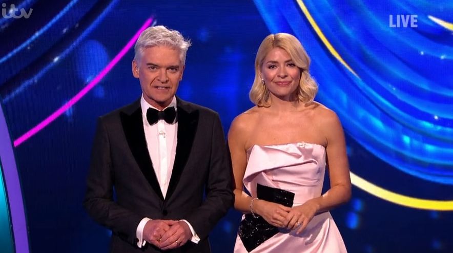 Phillip Schofield and Holly Willoughby on DOI