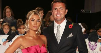 Billie Faiers and Greg Shepherd at the Pride of Britain 2018