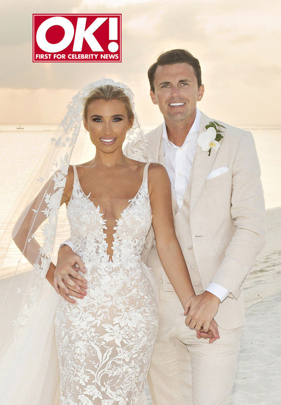 Billie Faiers and Greg Shepherd are married