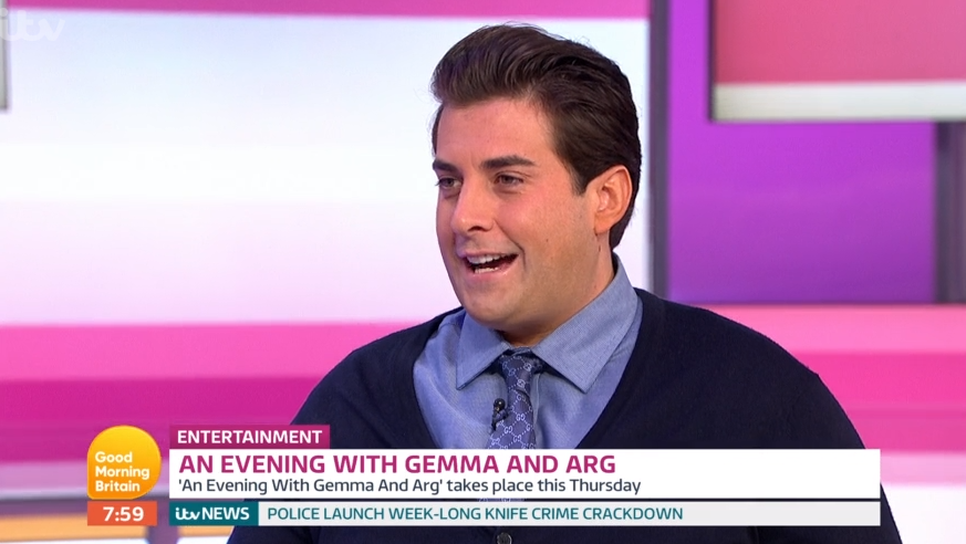 James Arg Argent on GMB