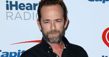 Luke Perry at the iHeartradio Music Festival Las Vegas 2018