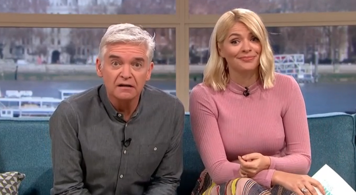This Morning fans in stitches as Phillip Schofield and Holly Willoughby keep repeating 'x-rated' word