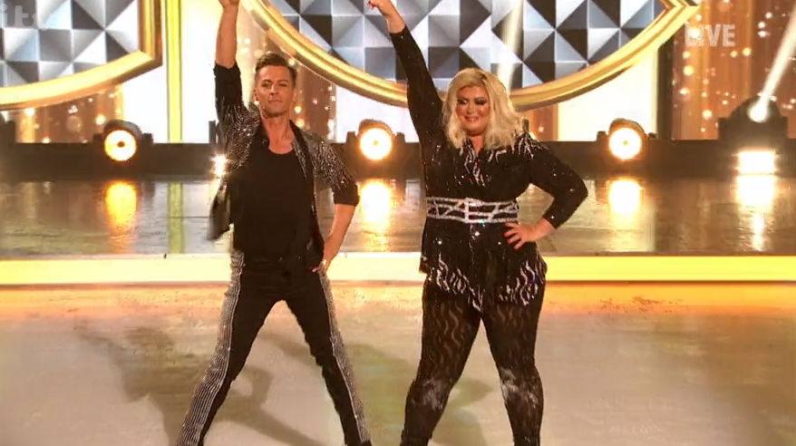 Gemma Collins 'petrified she would fall' during Dancing On Ice final