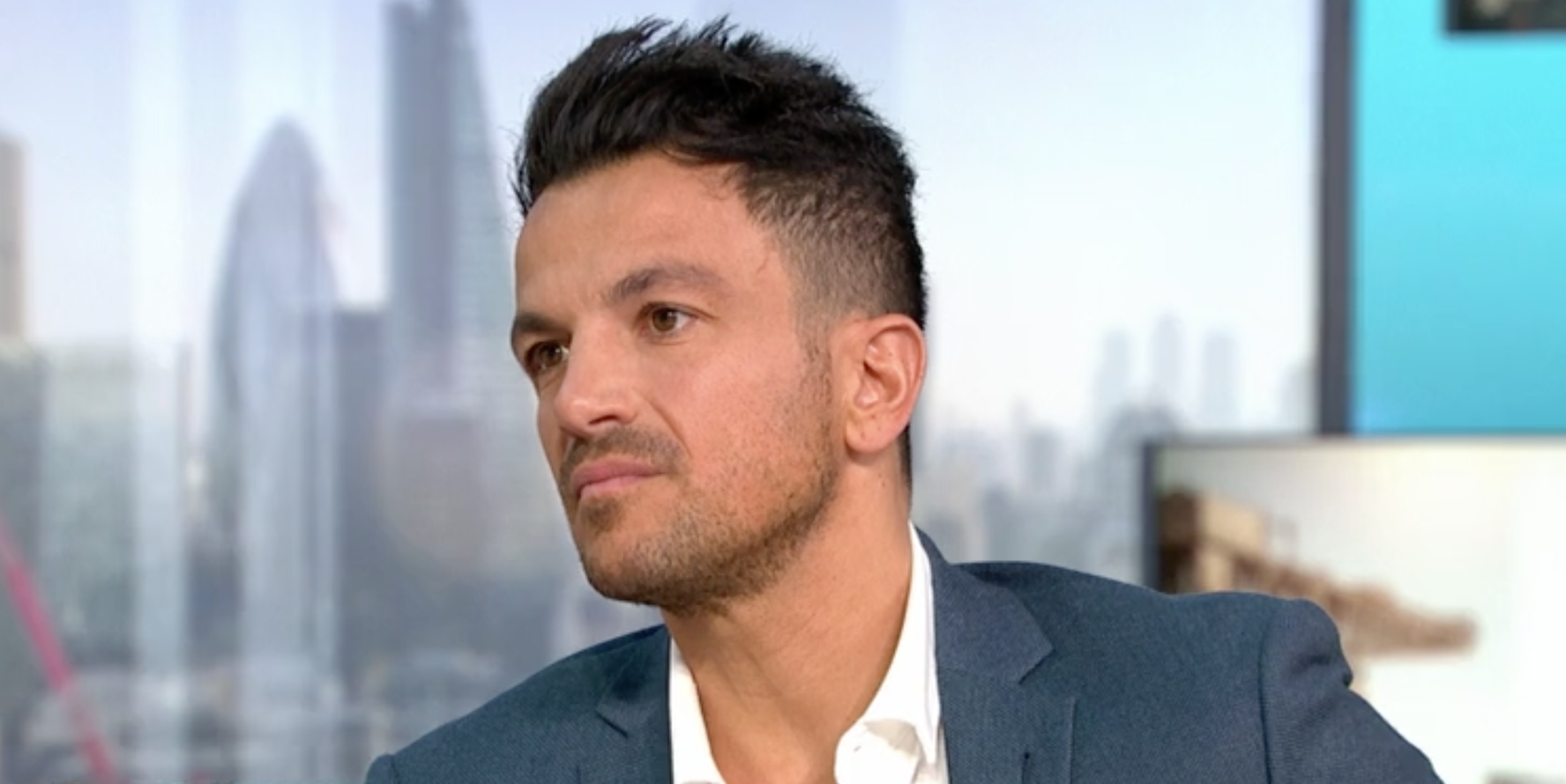 Peter Andre shuts down Piers Morgan on GMB over awkward Katie Price questions