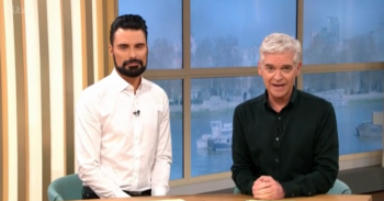 Rylan Clark-Neal and Phillip Schofield on This Morning