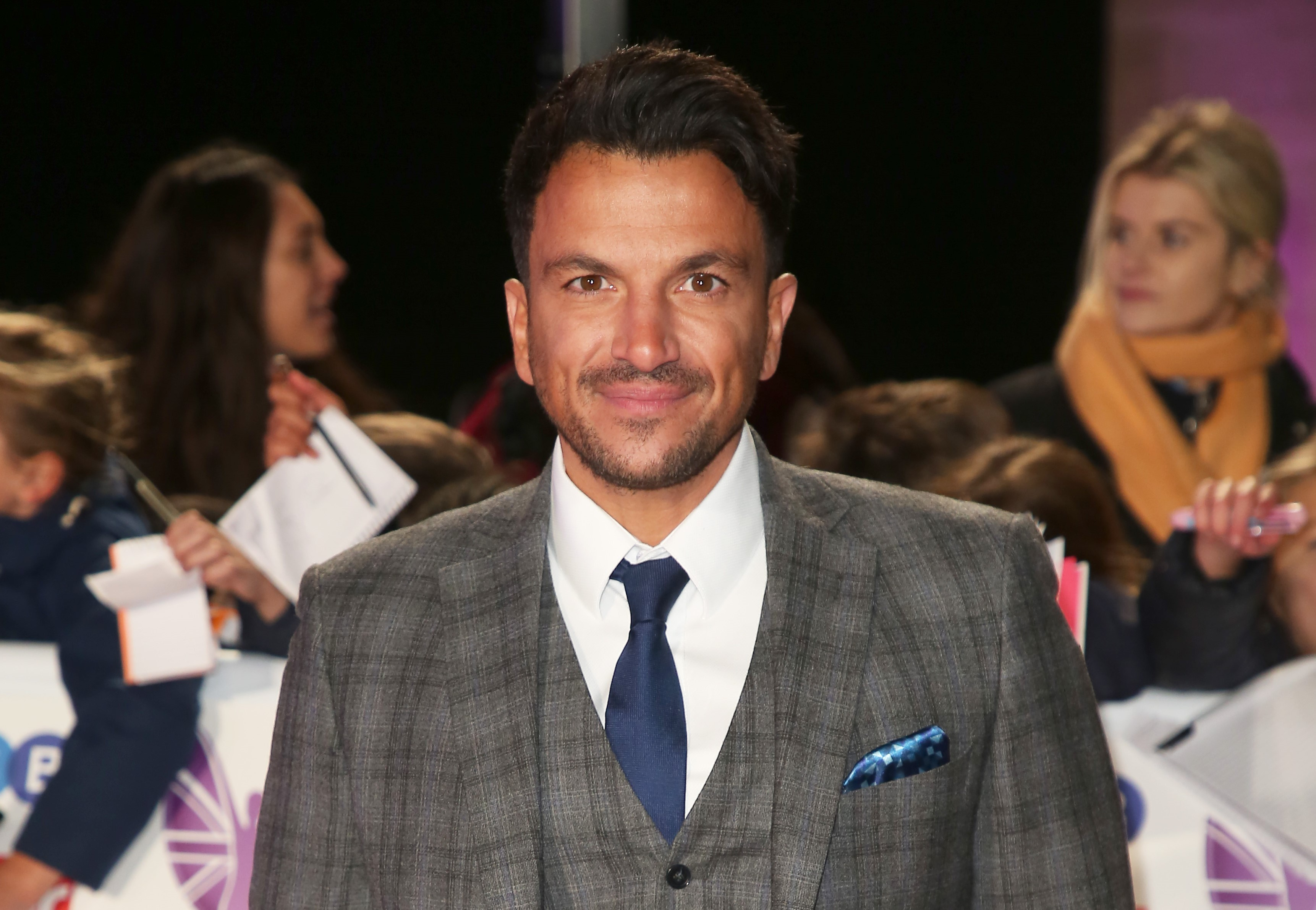 Peter Andre announces he's signed to American management team