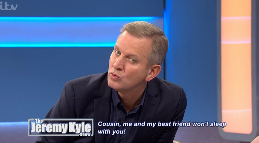 Jeremy Kyle viewers gobsmacked by guest's bizarre hairdo