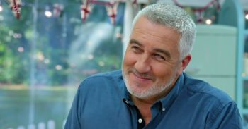 Paul Hollywood on GBBO