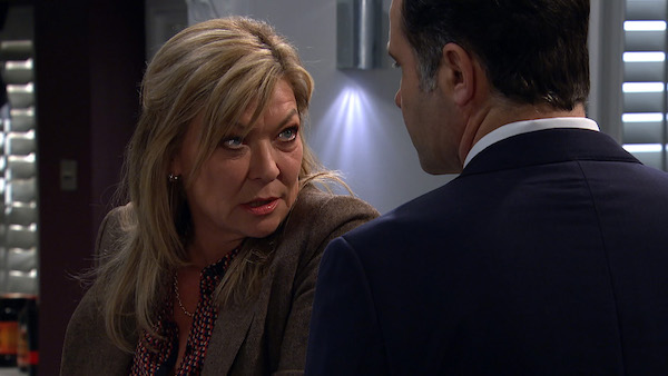 Emmerdale's Claire King hints at Graham Foster's exit