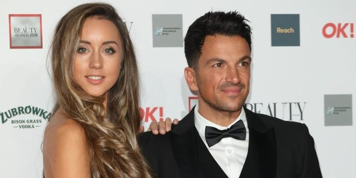"Peter Andre praises wife Emily as his ""rock"" in an emotional post"
