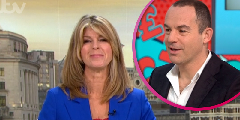 Kate Garraway dramatically cuts off Martin Lewis on GMB for bizarre reason