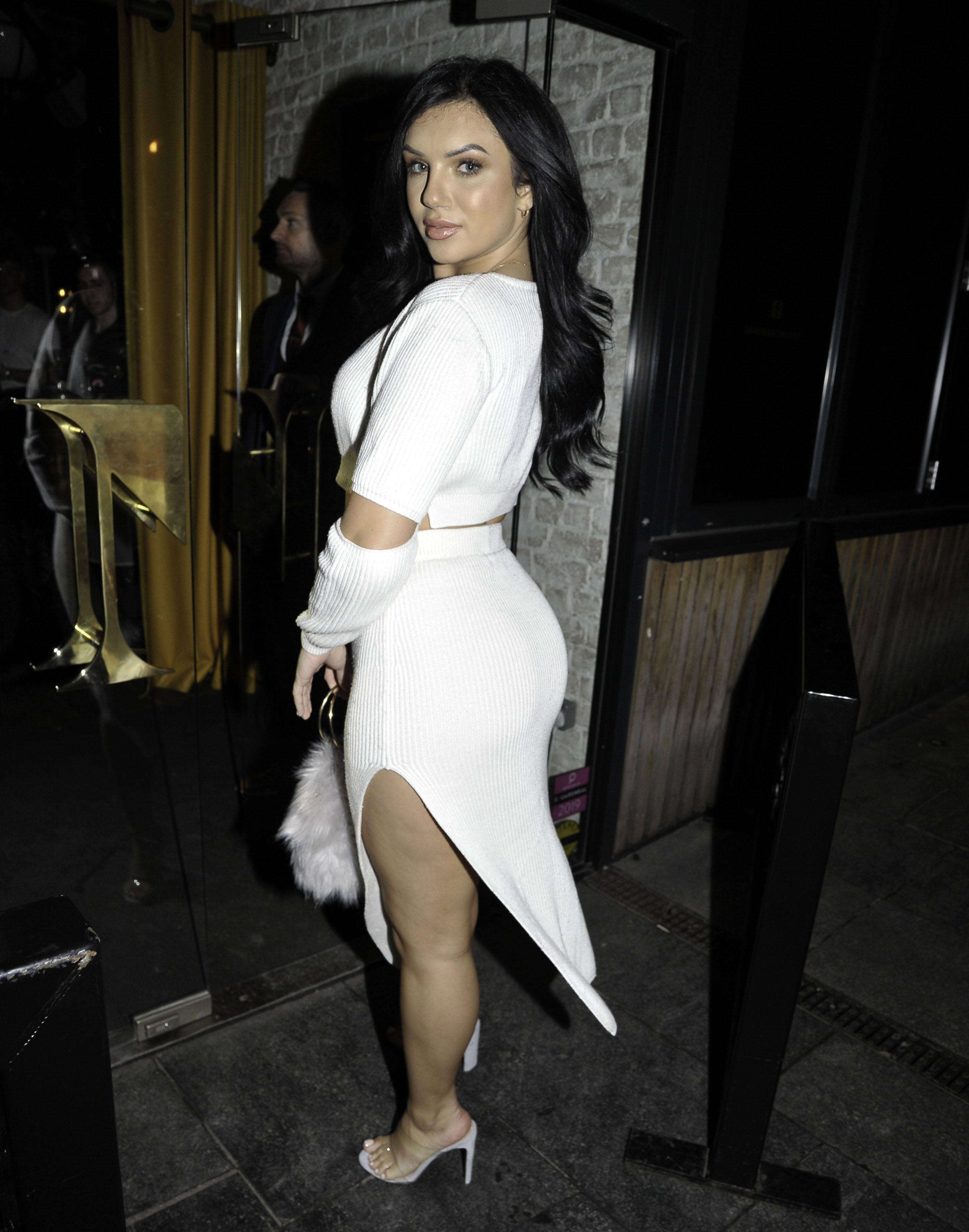 Alexandra Cane Attends The USE App Launch Party