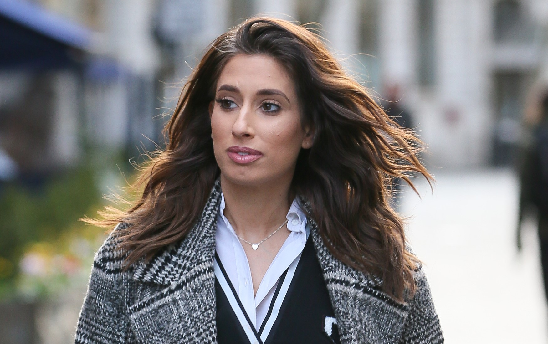 Pregnant Stacey Solomon reveals her discomfort at having 'sweaty boobs'