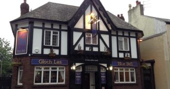 The Blue Bell in Conwy, Wales