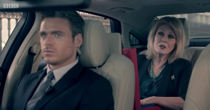 Bodyguard viewers in stitches at saucy Richard Madden joke in Comic Relief spoof