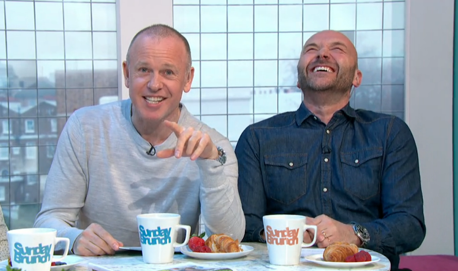 Sunday Brunch viewers in stitches as TV star drops F-bomb live on air