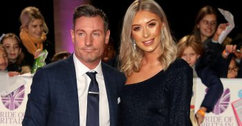 Dean Gaffney and girlfriend at the Pride of Britain 2018