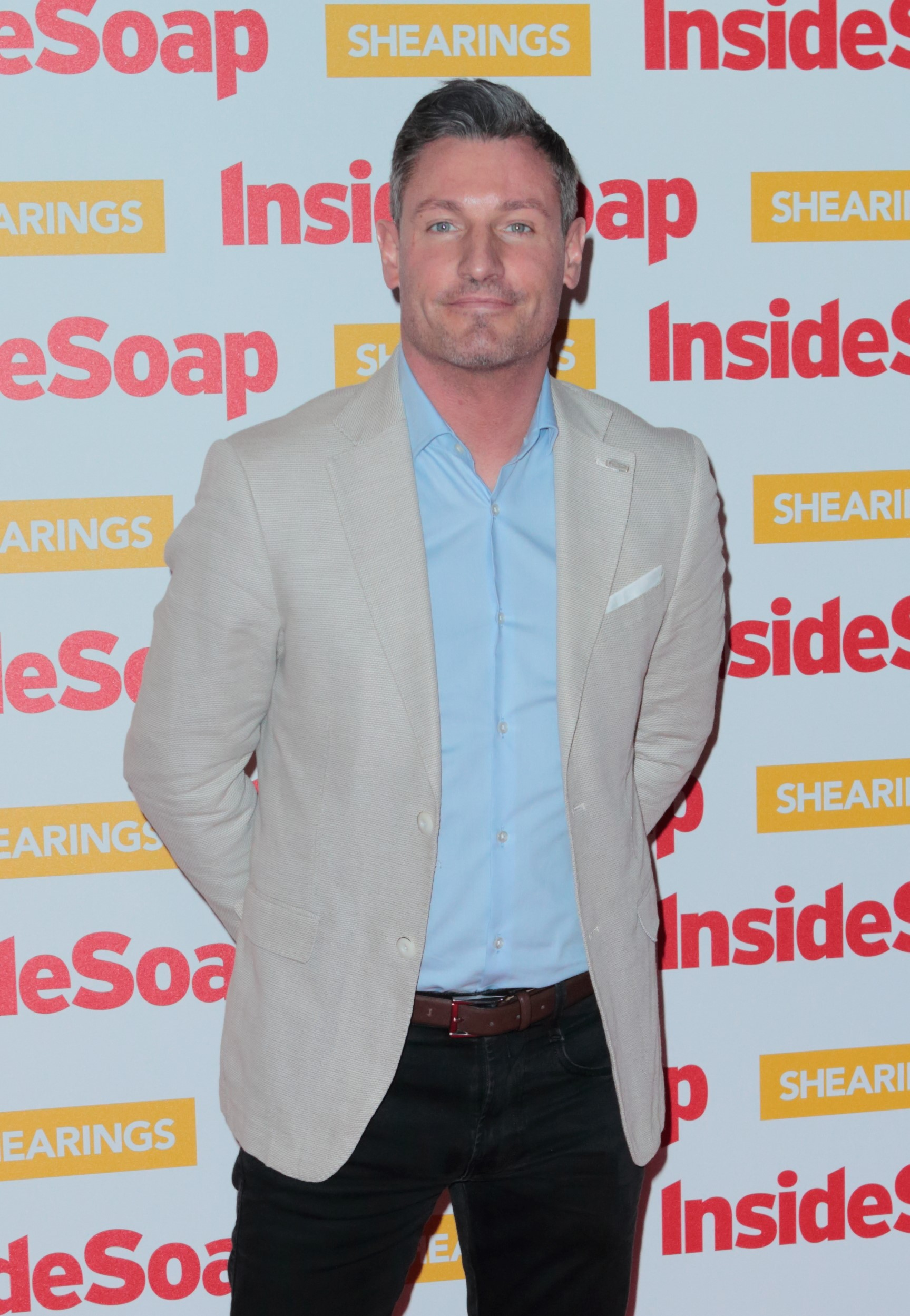 Dean Gaffney at the Inside Soap Awards 2018