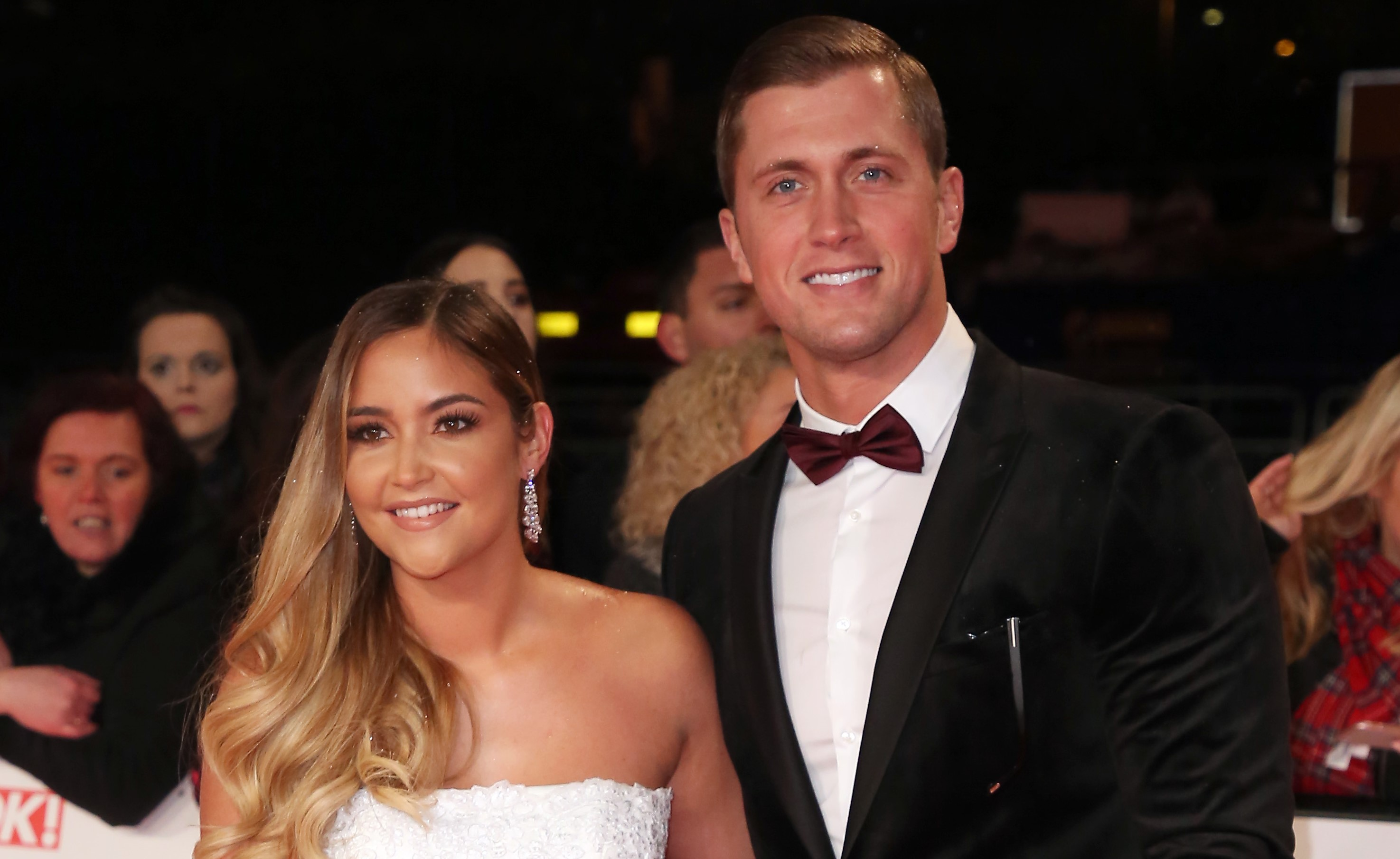 Jacqueline Jossa and Dan Osborne reunite to attend his nan's funeral following 'split'