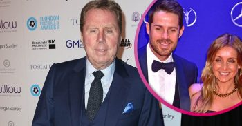 Harry Redknapp, Jamie Redknapp and his ex Louise