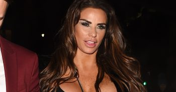 Katie Price and Chris Boyson arrive at Phil Turner's 50th Birthday party
