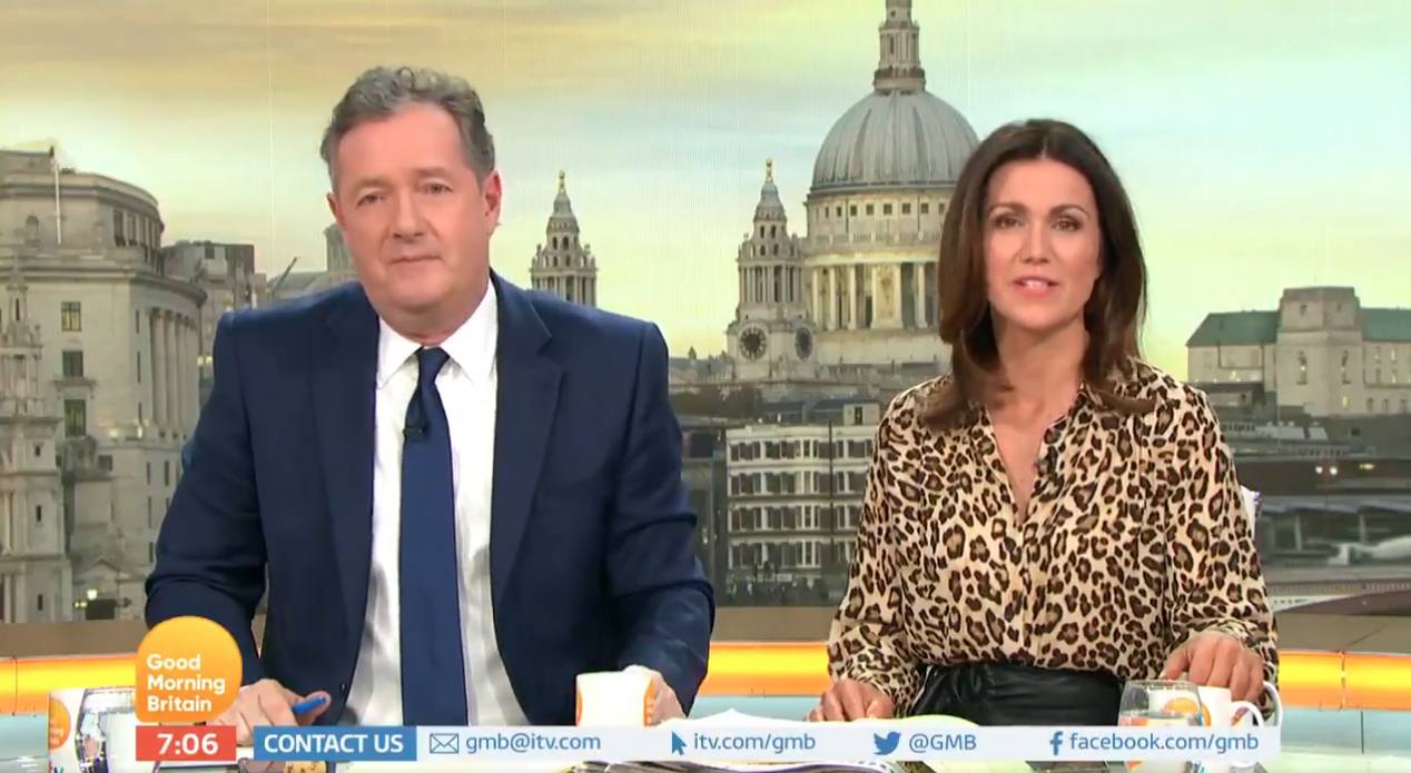 Piers Morgan slams Loose Women for 'being sexist'