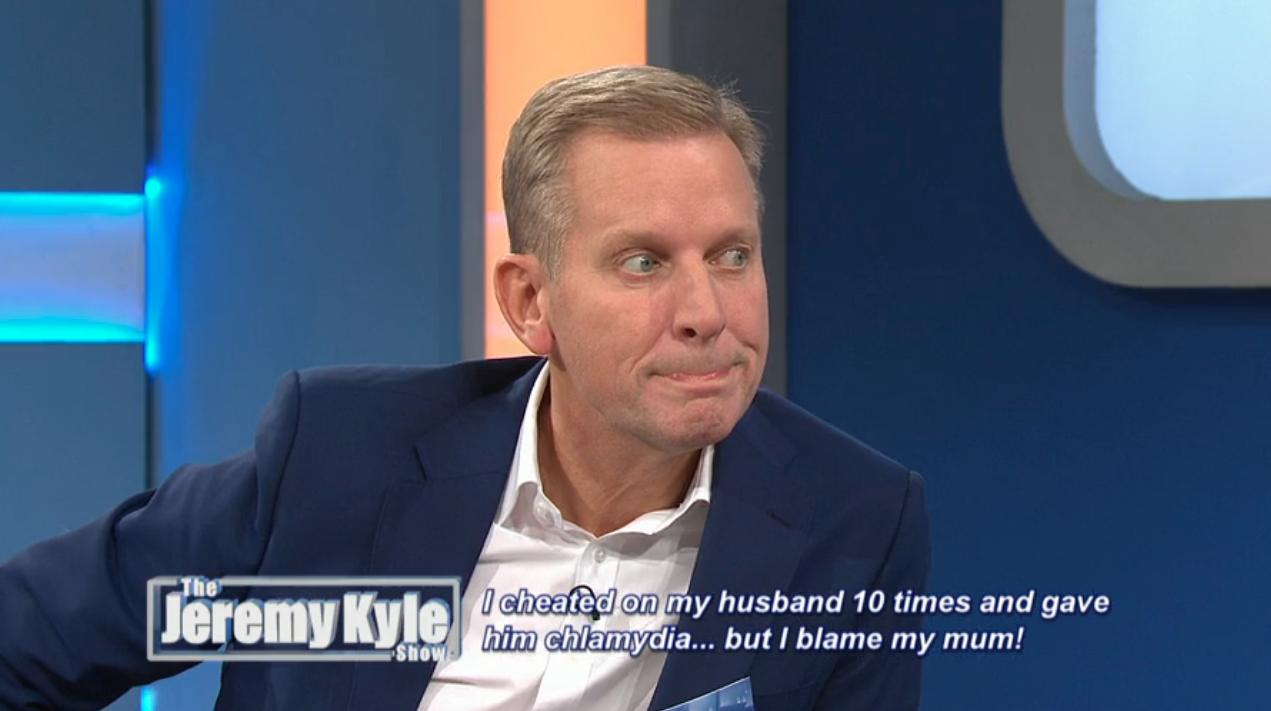 The Jeremy Kyle Show (Credit: ITV Hub)