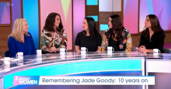 Jade Goody's bridesmaids on Loose Women