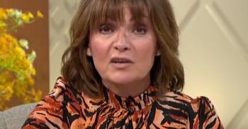 Lorraine Kelly on her talk show