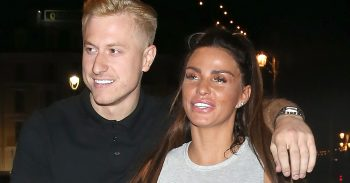 Happy Couple Katie Price And Kris Boyson Leave Shooshh Club In London
