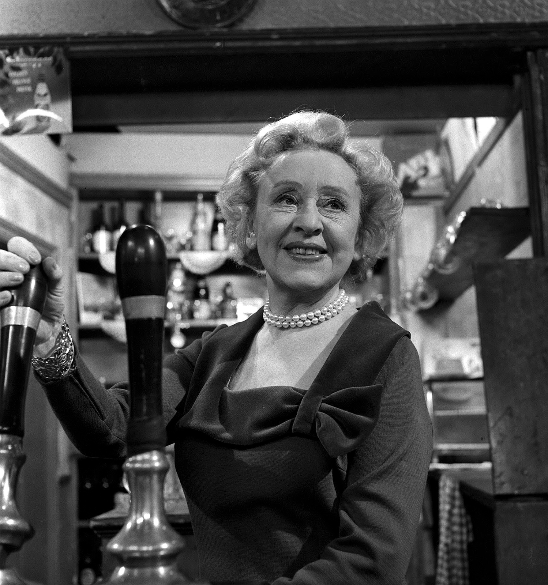 Editorial use only. Exclusive - Premium Rates Apply. Call your Account Manager for pricing. Mandatory Credit: Photo by ITV/REX/Shutterstock (670025md) 'Coronation Street' TV - 1966 - Annie Walker [Doris Speed] ITV ARCHIVE