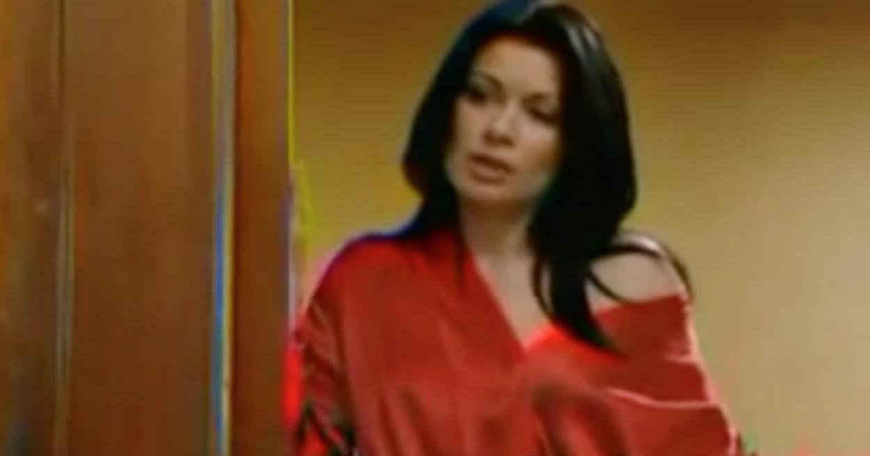 Alison King as Coronation Street's Mrs Fanshaw - 2004
