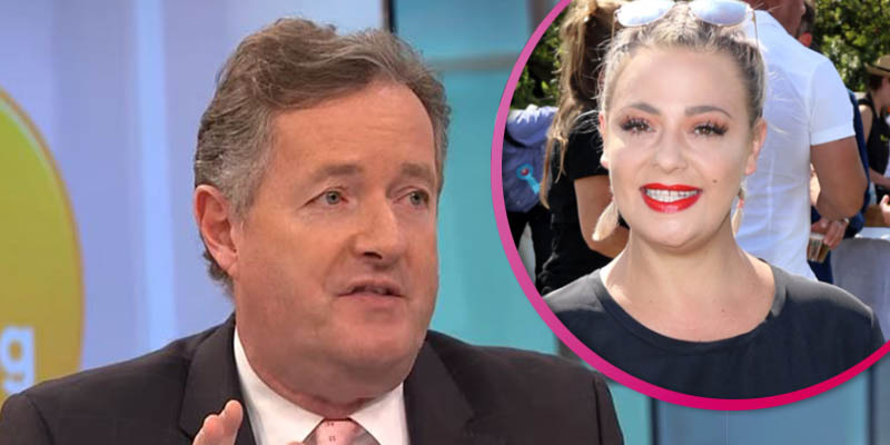 Lisa Armstrong leaves Piers Morgan 'in agony' after doing his makeup