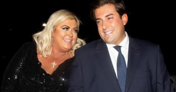 James Argent And Gemma Collins Reconcile As They Are Seen Arriving At Vojan In Ongar Essex For A Charity Event He Is Hosting