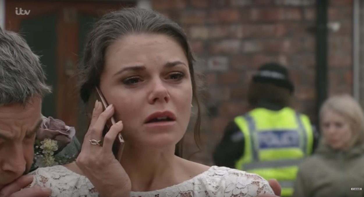 Kate Connor (Credit: Corrie YouTube)