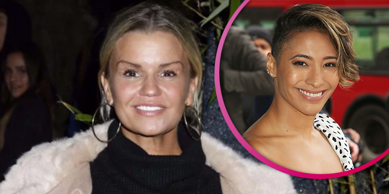 Kerry Katona lashes out at Strictly's Karen Clifton for crying over being refused a haircut