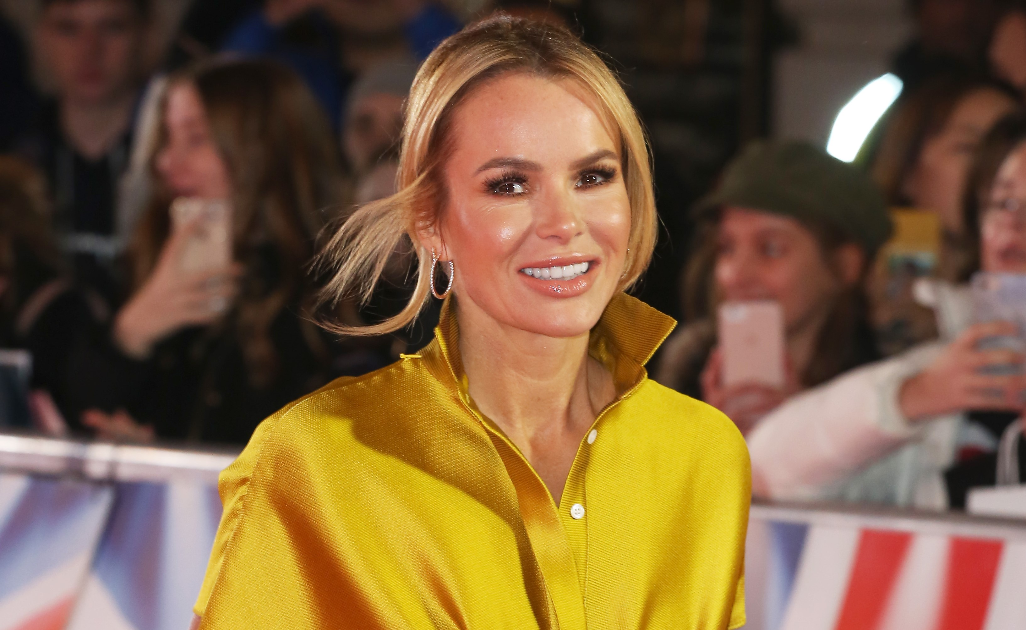 Amanda Holden hits back at claims she'll tone down her risqué outfits on BGT