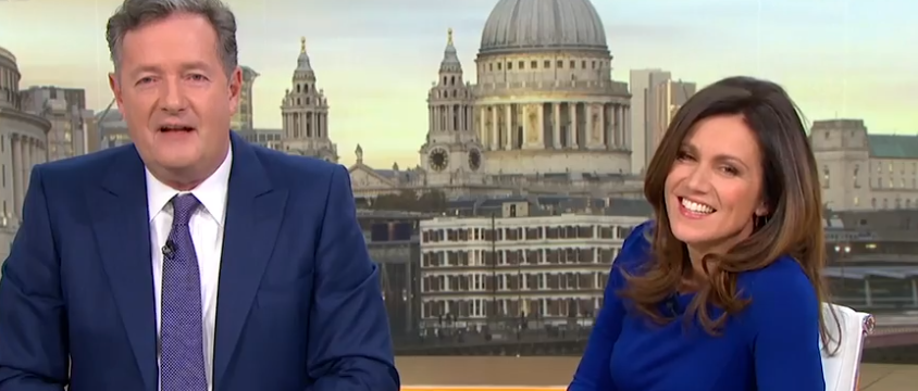 Stand-in host announced GMB as Piers Morgan and Susanna Reid take break